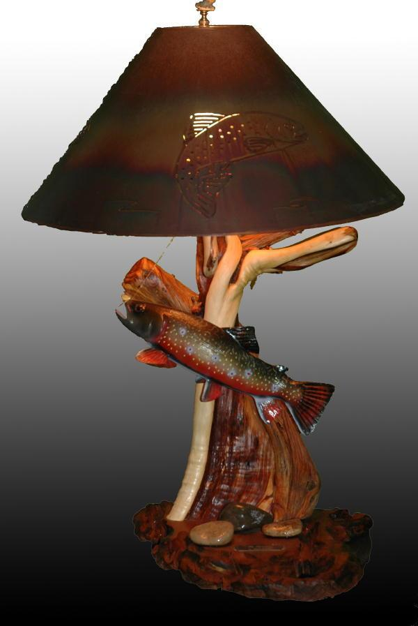 Fly Swatter - Sold - Taking Orders - The Antler Shack Fish Lamps Fish Themed Lighting