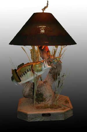 Lunch - Sold - Taking Orders - The Antler Shack Fish Lamps Fish Themed Lighting