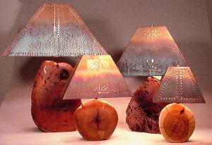 Rectangle Lamp Shades - Sizes and Prices - The Antler Shack Copper Lamp Shades