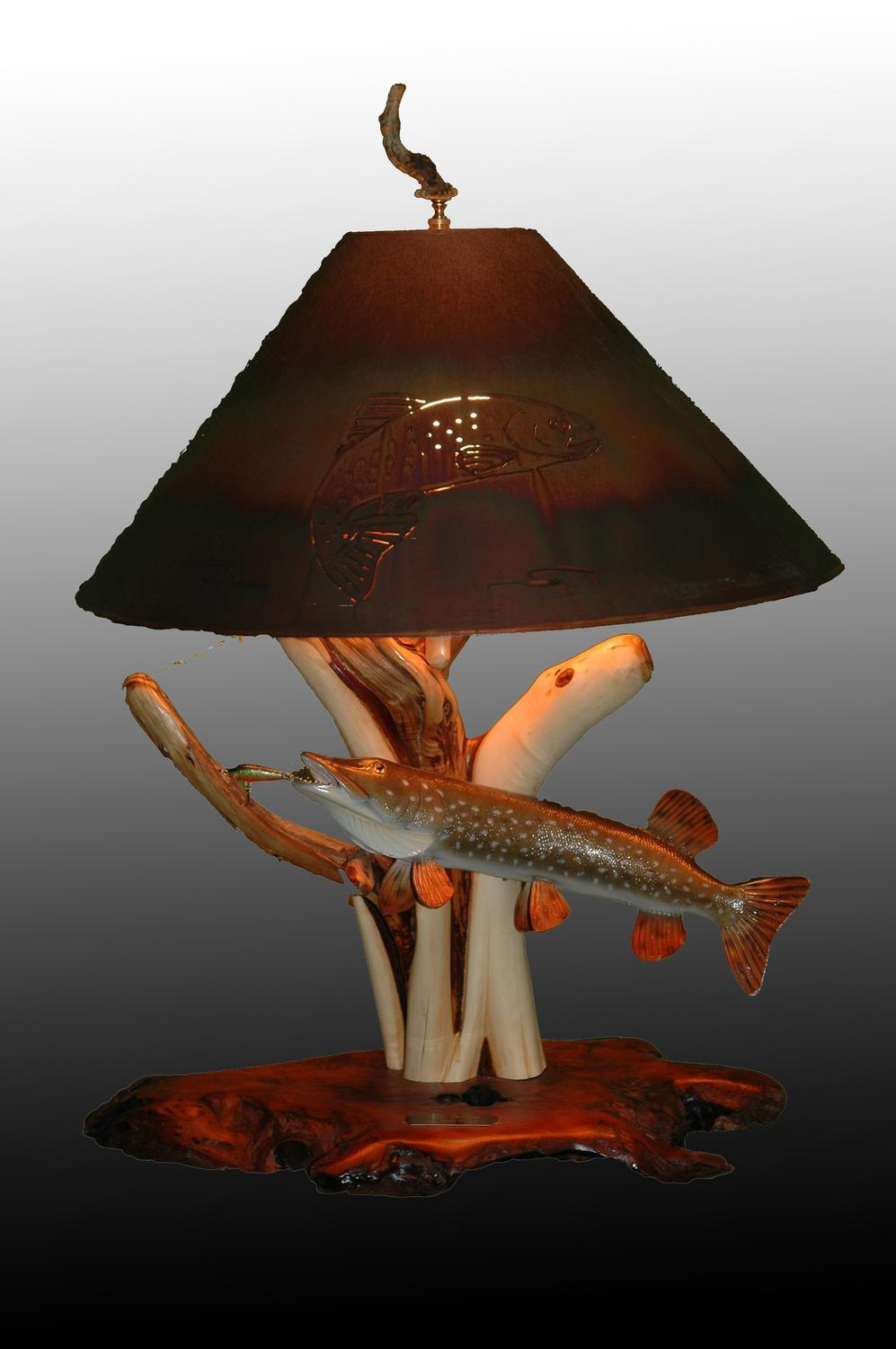 - The Antler Shack Fish Lamps Fish Themed Lighting